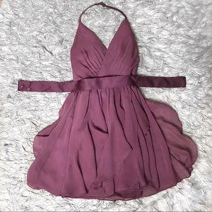 Vera Wang bridesmaid dress in Chianti, size 0